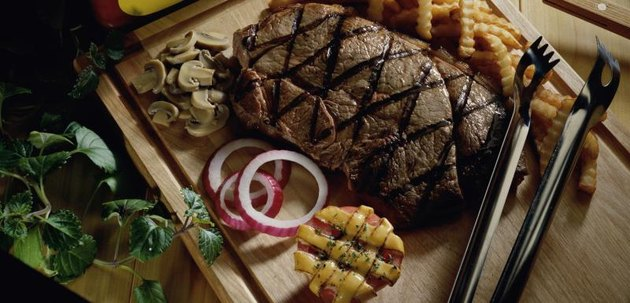 Steak, the staples, the Atkins diet