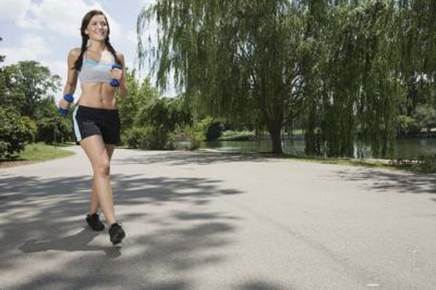 at least 45 to 60 minutes, cardio intervals, six days