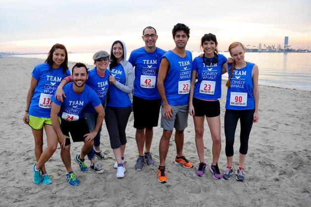 Adrian Grenier Runs The New Years Resolution - Run A Better Life - 5k, 10k & 15k