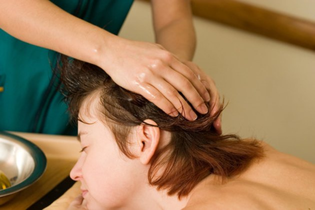 Bumps, the scalp, several conditions