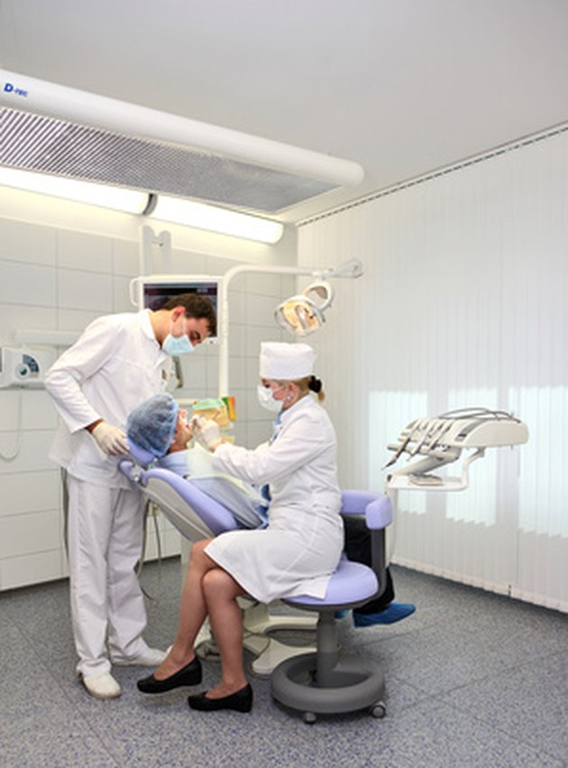 your dentist, an evaluation, a growth, the roof