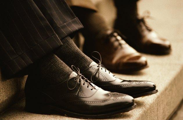 Businessmen's Wingtip Shoes