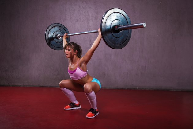 Overhead Squat With Barbell
