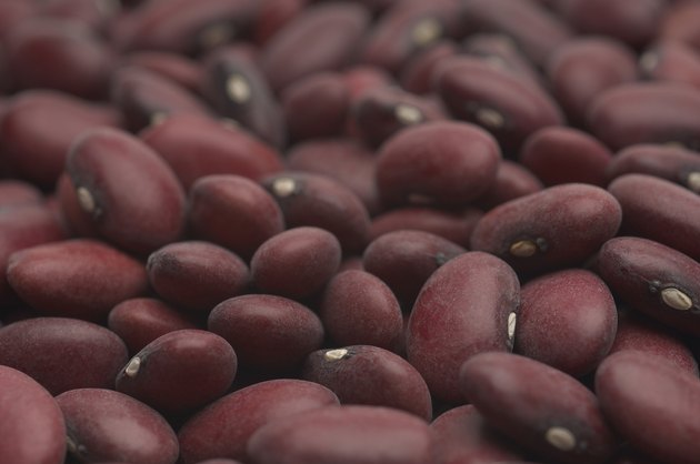 Kidney beans, close-up