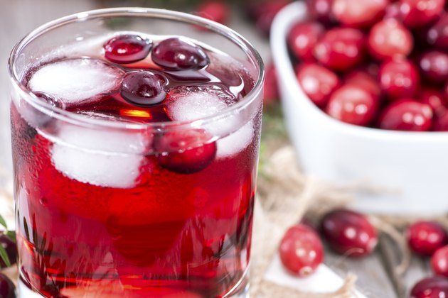 Chilled Cranberry Juice