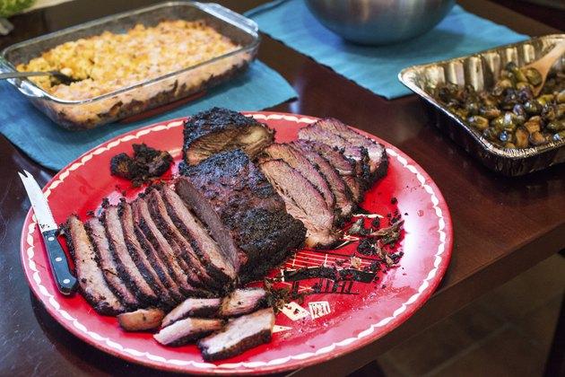 Texas BBQ Brisket Platter