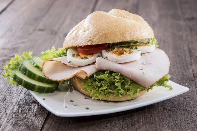 Fresh made Chicken Sandwich