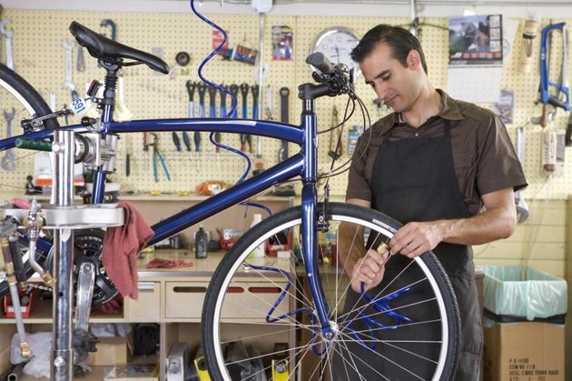 Most bike shops have a professional bike fitter on staff.