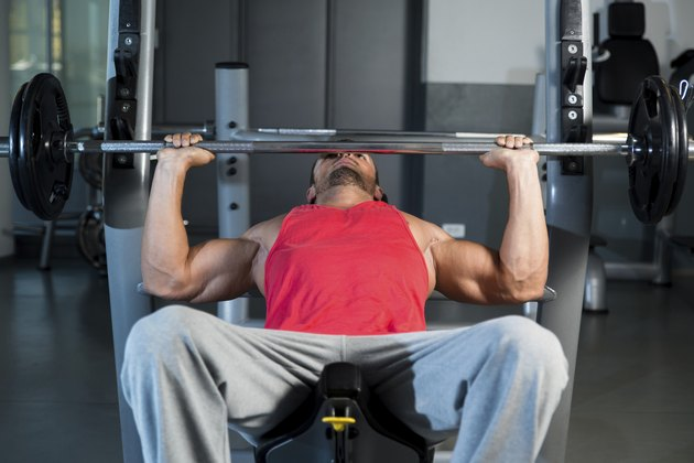 Bench Press At Gym
