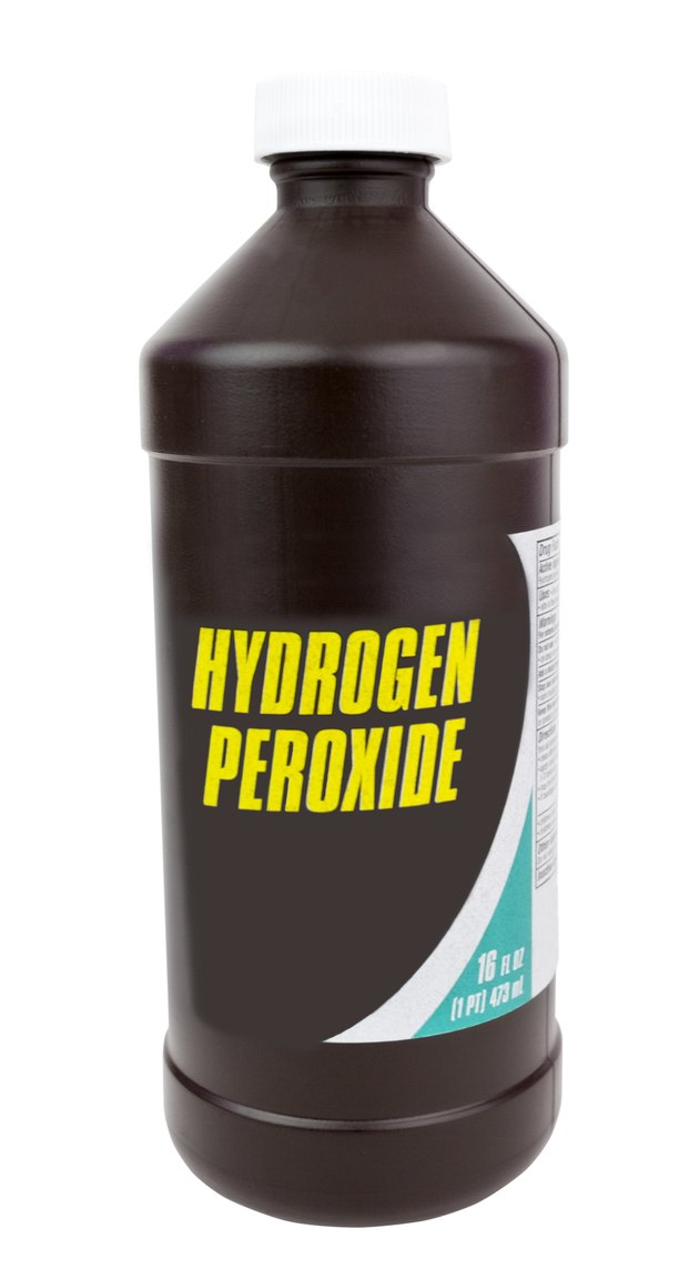 Bottle of Hydrogen Peroxide