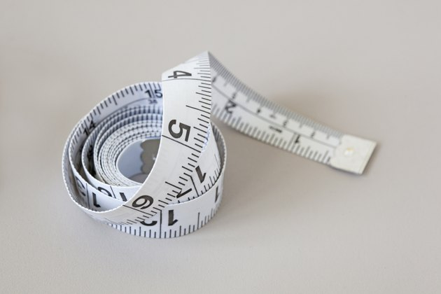 simple white measuring tape