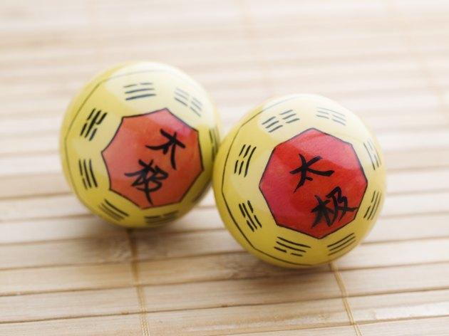 Two Baoding balls