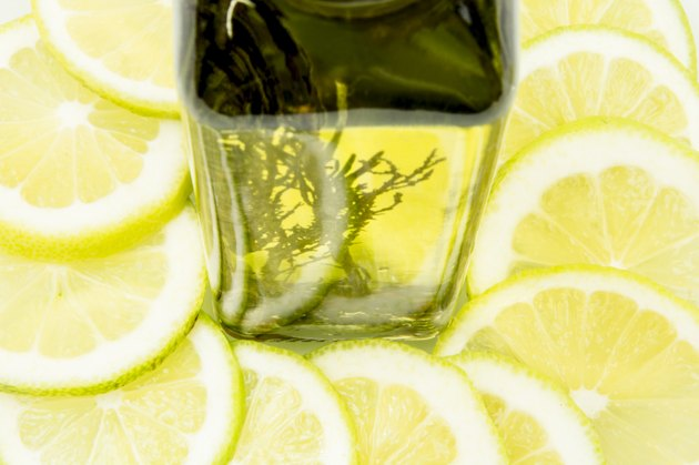 olive oil with citrus