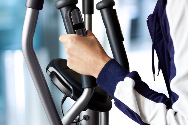 Healthy Fitness with a Exercise Machine