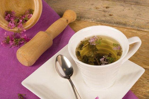 Valerian tea