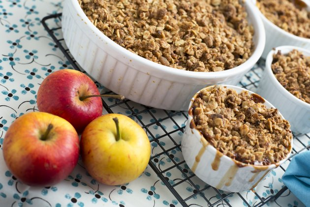 Fresh Apple Crumble