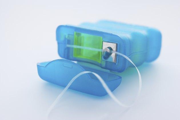 Pack of dental floss