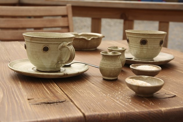 Ceramic coffee set