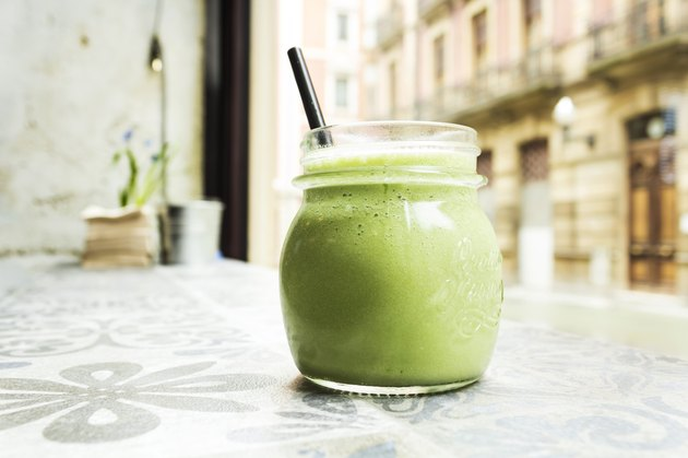 Green smoothie. Detox superfood