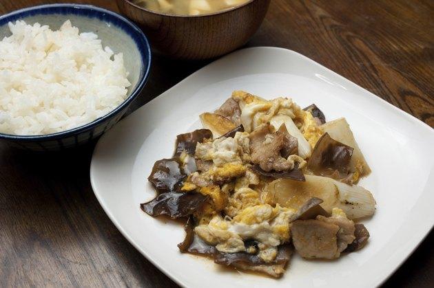 Japanese Chinese cuisine Moo shu pork (|AA Eaa)