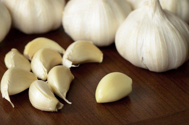 Fresh garlic.