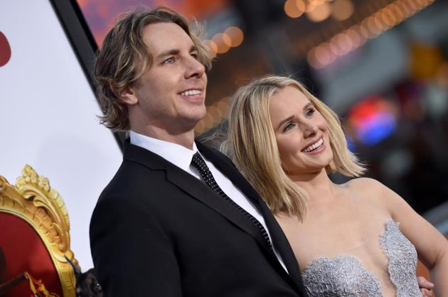 """WESTWOOD, CA - MARCH 28:  Actors Dax Shepard and Kristen Bell arrive at the premiere of USA Pictures' """"The Boss"""" at Regency Village Theatre on March 28, 2016, in Westwood, California (Photo by Axelle/Bauer-Griffin/FilmMagic)"""