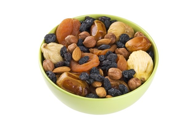 Dried fruits and nuts mix