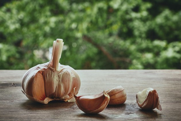 Raw garlic