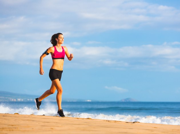 Fitness Woman Running