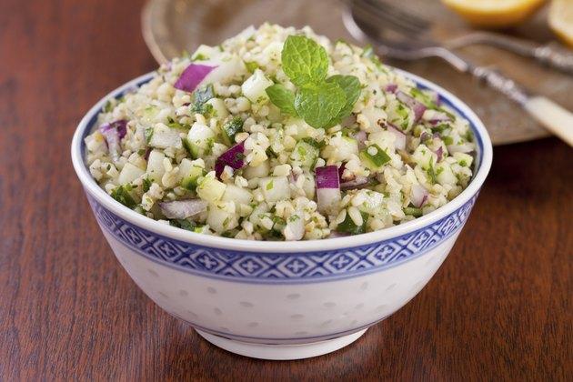 Tabbouleh Bulgar Wheat Salad
