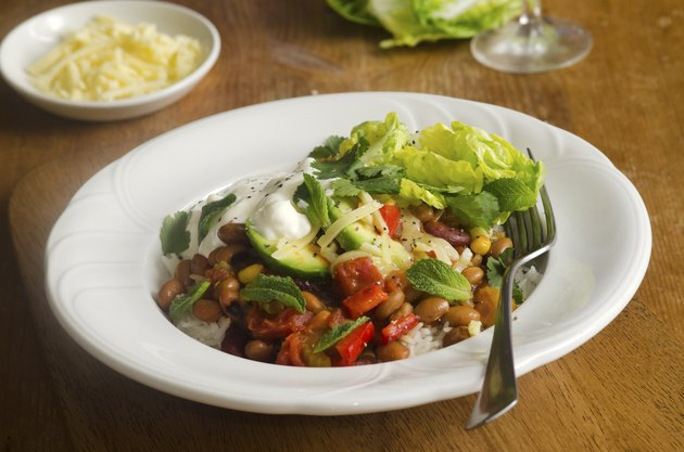 Mexican chilli beans