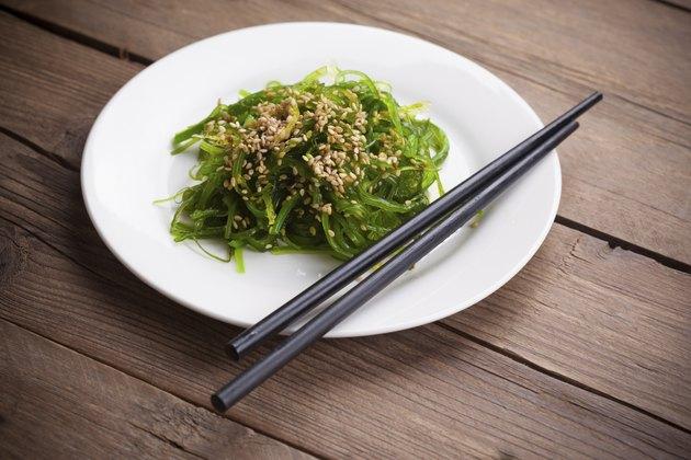 japanese Chuka Wakame seaweed salad