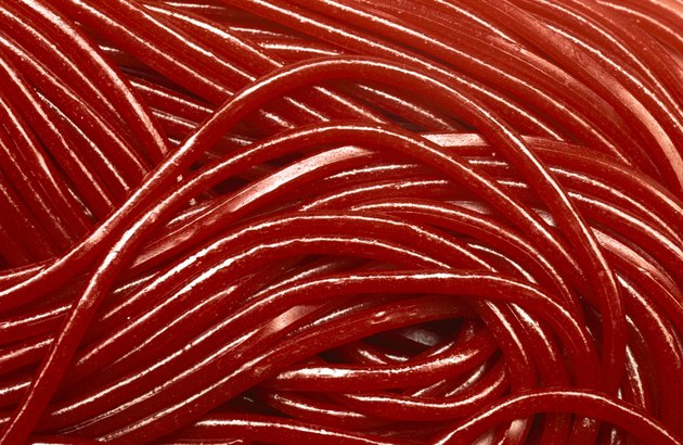 Licorice strings