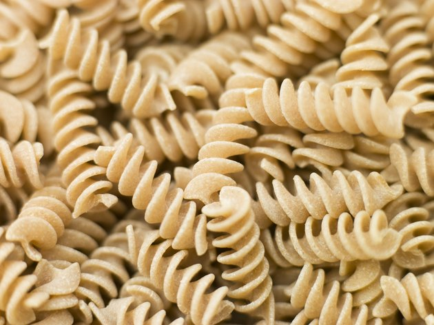 Pasta,Fusilli,wholewheat