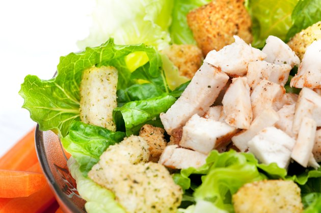 Salad Chicken Detail