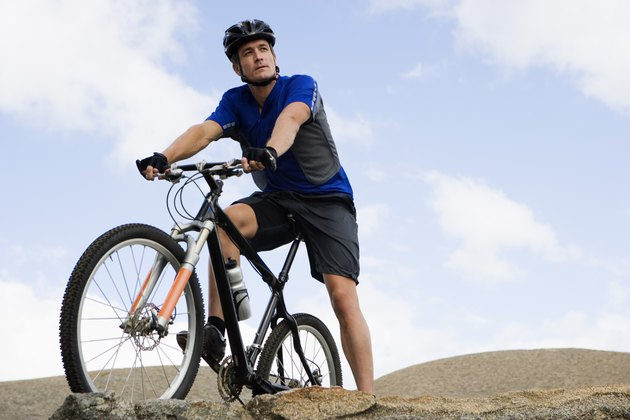 Cycling can help you target large muscle groups