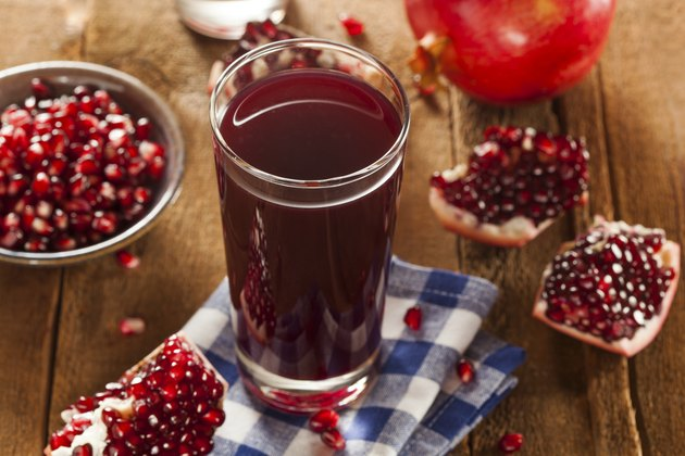 Healthy Organic Pomegranate Juice