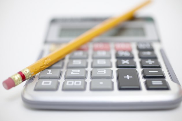 Calculator with pencil
