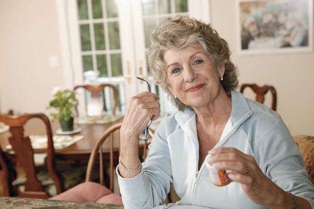 Woman with prescription