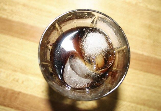 glass of coke