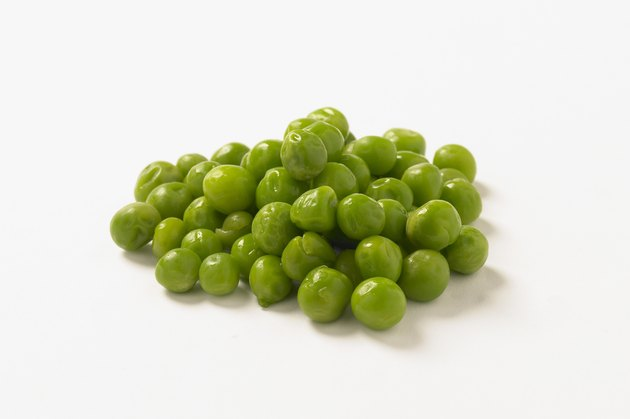 Peas, studio shot