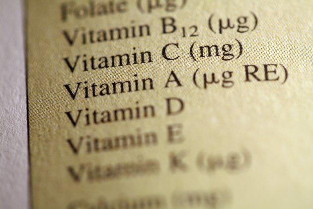 Vitamin listings