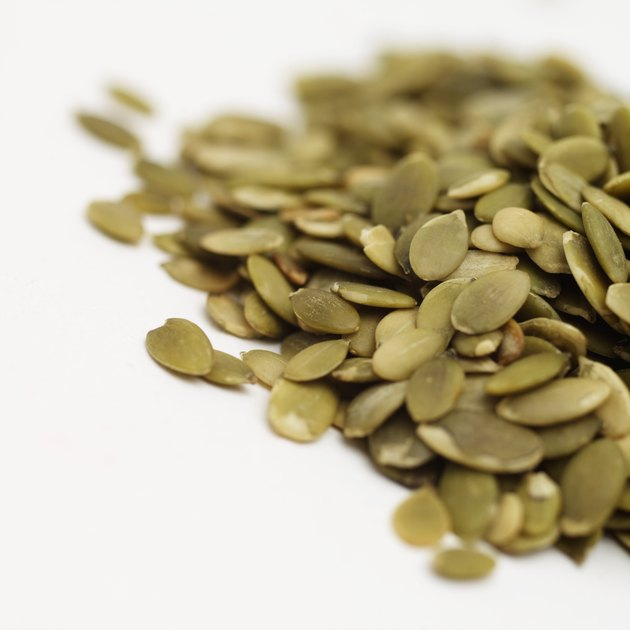 Close-up of pumpkin seeds