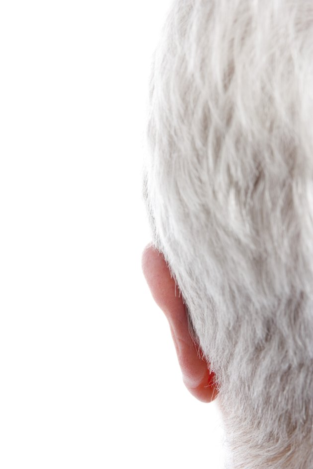 Person's ear