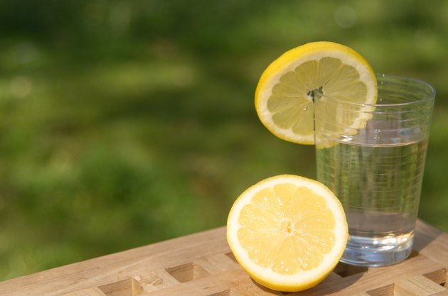 Lemons and Glass of Water