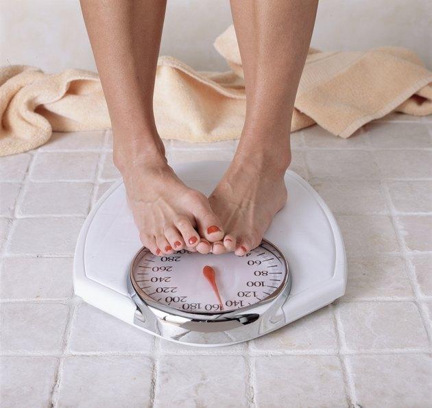 Woman dieting