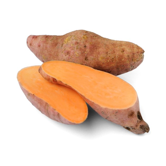 Sweet potatoes ((Ipomoea batatas)