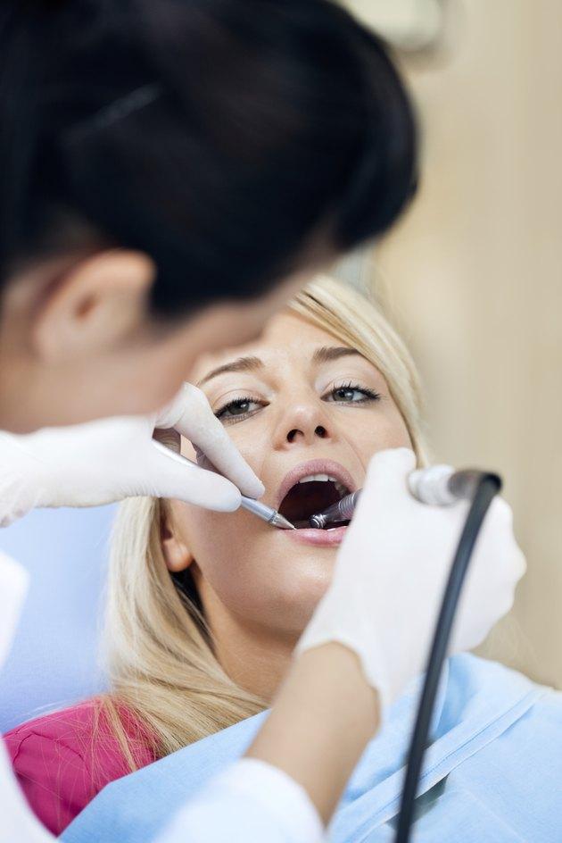 Dental Work on Teen - Teeth Polishing
