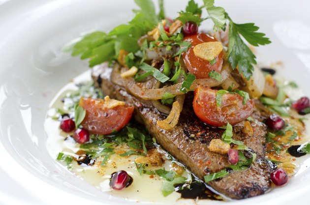 Cooked Veal Liver