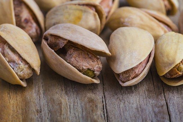 The pistachios heap